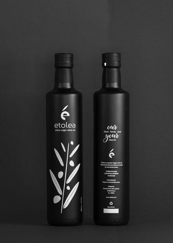 Etolea, huile d'olive vierge extra